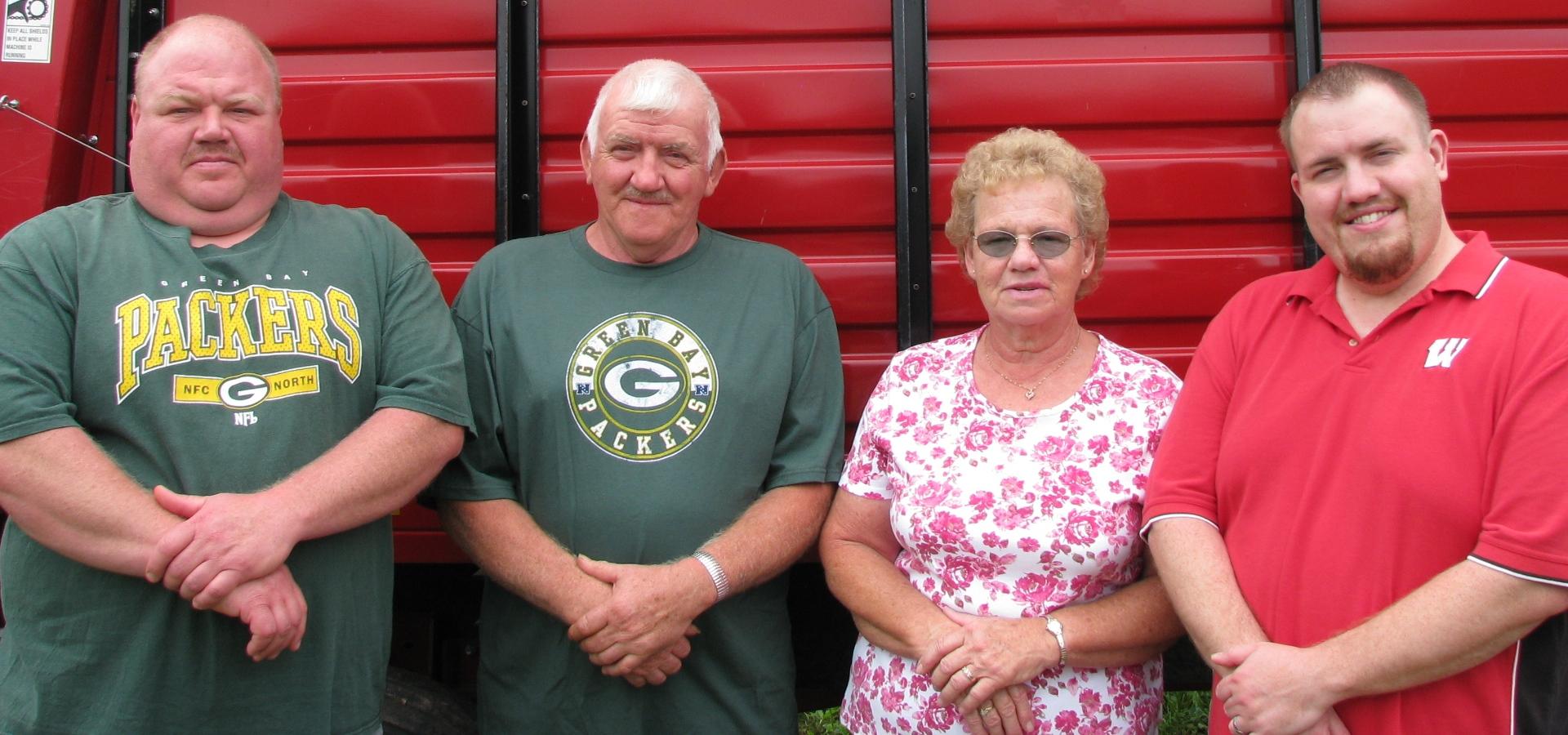 Waterman Family for Company History - Chopper Box / Forage Box / Forage Wagon Repair