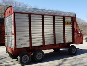 H&S HD 7+4 - Forage Box - Chopper Box - 16 foot - Lumber Land LLC