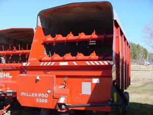 Miller Pro 5300 - Forage Box - Chopper Box - 16 foot - Lumber Land LLC