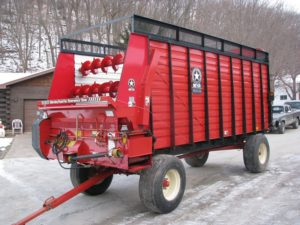Home - Forage Box - Meyer 4218 Front and Rear Unload Combo Box, No Roof, TSS - After - Waterman - Waterman's - Forage Box – Forage - Chopper - Box - Silage - Wagon - Repair - Sales - Lumber - Land - LLC - H&S - Meyer - Gehl - Miller Pro