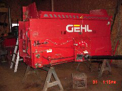 Rebuilt Process - Gehl 980 - Steel Sided - Head Mechanical Work - Waterman - Waterman's - Forage Box – Forage - Chopper - Box - Silage - Wagon - Repair - Sales - Lumber - Land - LLC - H&S - Meyer - Gehl - Miller Pro