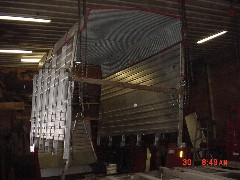 Rebuilt Process - Gehl 980 - Steel Sided - Remove Side & Roof - Waterman - Waterman's - Forage Box – Forage - Chopper - Box - Silage - Wagon - Repair - Sales - Lumber - Land - LLC - H&S - Meyer - Gehl - Miller Pro
