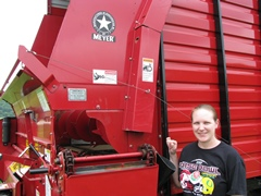 Becky Waterman - Chopper Box / Forage Box / Forage Wagon Repair