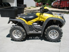 Honda 650 Rubicon Four Wheeler - Chopper Box / Forage Box / Forage Wagon Repair