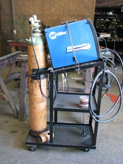 Chopper Box, Forage Boxes & Forage Wagon Metal Working Tools - Miller Mig Light Duty Wire Feed Welder