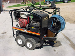 13 Horsepower Honda Model 3500 Power Washer - Chopper Box / Forage Box / Forage Wagon Repair