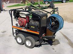 13 Horsepower Honda Model 3500 Power Washer - Power Washer - Special Tools - Waterman - Waterman's - Forage Box - Forage - Chopper - Box - Silage - Wagon - Repair - Sales - Lumber - Land - LLC - H&S - Meyer - Gehl - Miller Pro