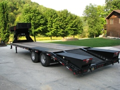 Skid Steer Hauling Trailer - Chopper Box / Forage Box / Forage Wagon Repair