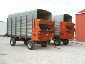 Rex-Orange-Head-Red-Head-Forage-Boxes-Used-New-Parts